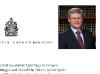 Canada Prime Minister Stephen Harper