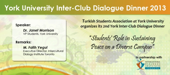 York Inter-Club Dialogue Dinner 2013