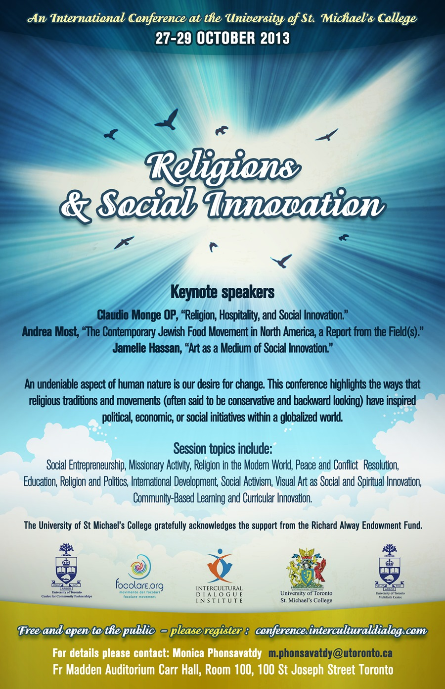 Religions & Social Innovation