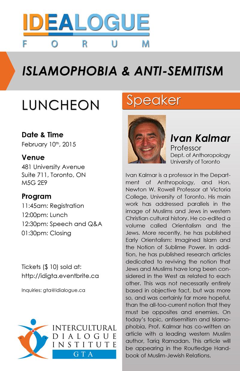 Islamaphobia & Anti-semitism