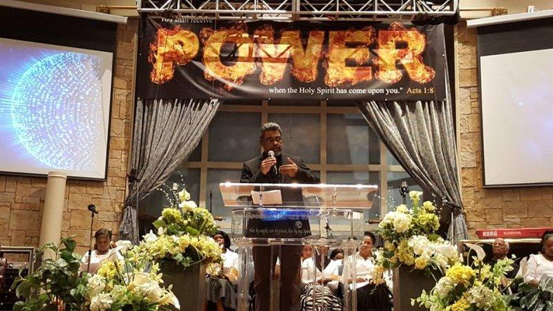 Multifaith Thanksgiving Celebration at Revivaltime Tabernacle- Father Gigi 2