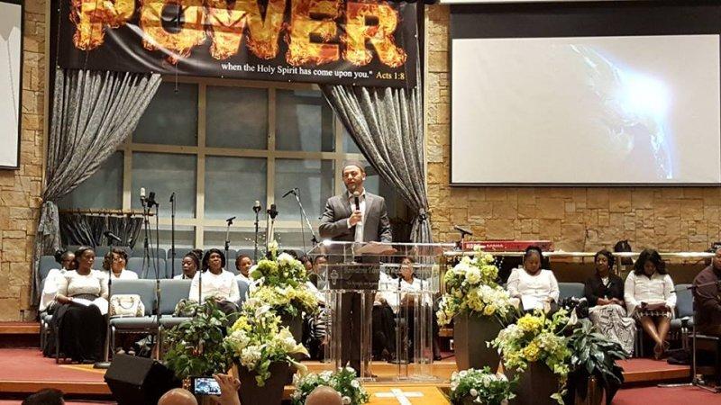 Multifaith Thanksgiving Celebration at Revivaltime Tabernacle Imam Slimi