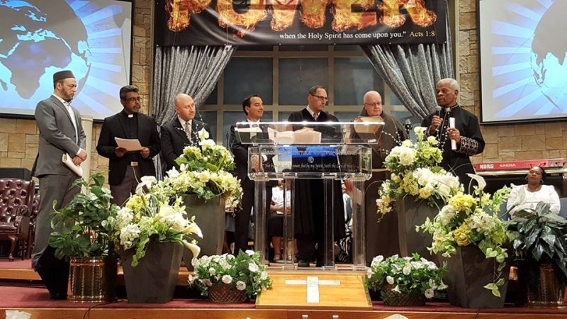 Multifaith Thanksgiving Celebration at Revivaltime Tabernacle Pastor Audley James 2