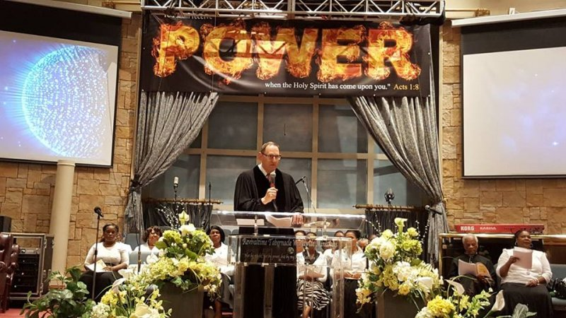 Multifaith Thanksgiving Celebration at Revivaltime Tabernacle Rabbi Howard Morrison 1