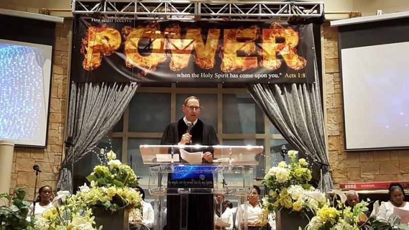 Multifaith Thanksgiving Celebration at Revivaltime Tabernacle Rabbi Howard Morrison 2