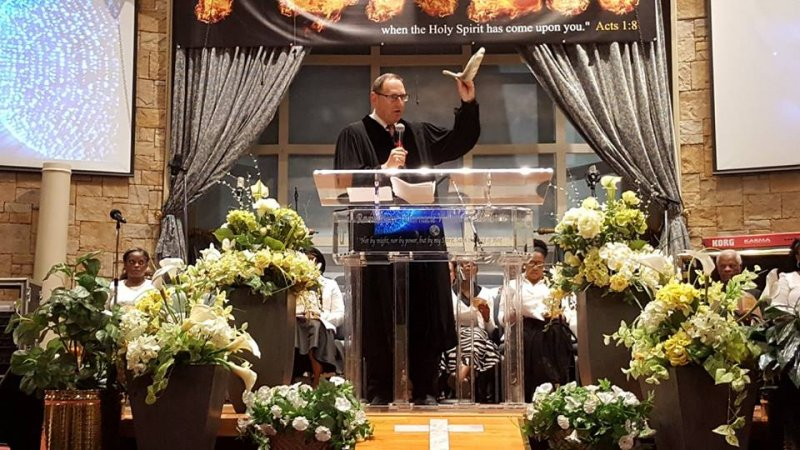 Multifaith Thanksgiving Celebration at Revivaltime Tabernacle Rabbi Howard Morrison 4