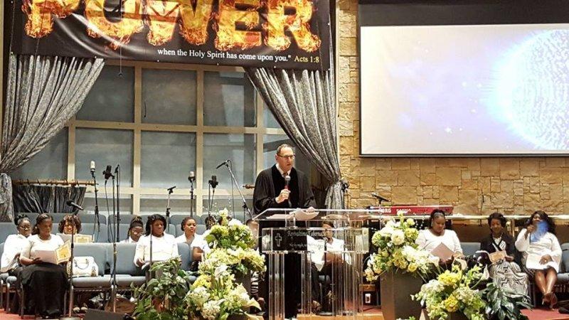 Multifaith Thanksgiving Celebration at Revivaltime Tabernacle Rabbi Howard Morrison