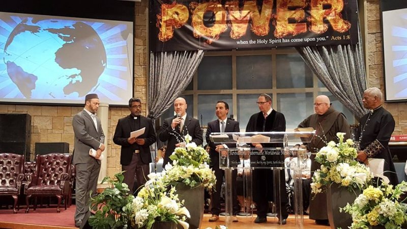 Multifaith Thanksgiving Celebration at Revivaltime Tabernacle- York Centre Interfaith Council 2