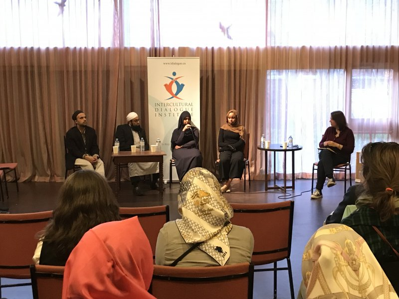 On Being A Canadian Muslim_ Panel Discussion_IDIALOGUE SERIES buy Intercultural Dialogue Institute (15)
