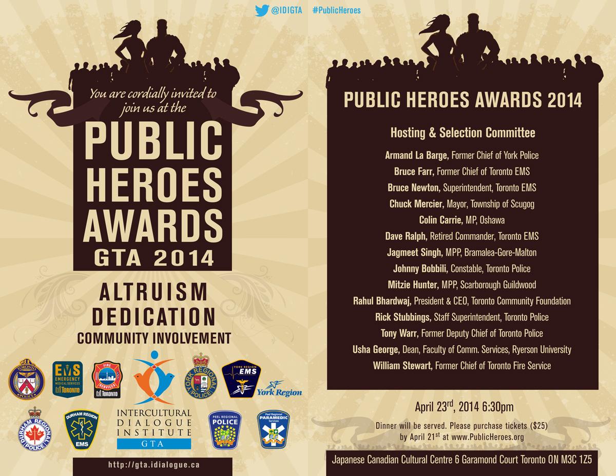 Public Heroes Awards Ceremony 2014