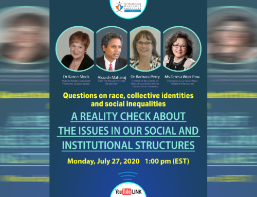 Questions on Race, Collective Identities and Social Inequalities: A Reality Check about the Issues in our Social and Institutional Structures