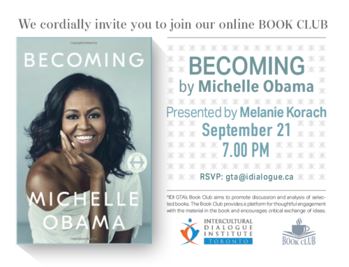 """Becoming"" by Michelle Obama and Presented by Melanie Korach"