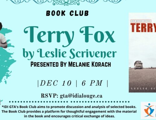 Terry Fox by Leslie Scrivener &  Presented  by Melanie Korach